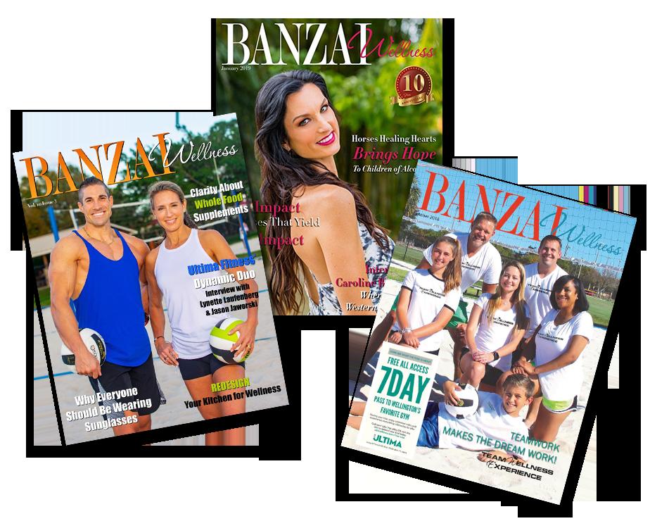 Banzai-Wellness-Magazine-Covers