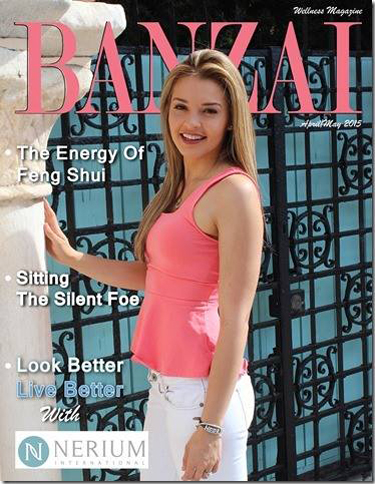 Banzai Wellness Magazine - April 2015 Issue