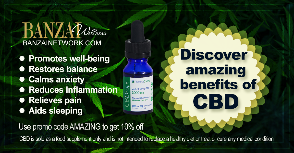 Banzai Network Benefits of CBD